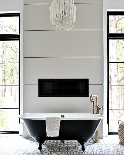 The Forest Modern: Modern Vintage Master Bathroom Reveal!