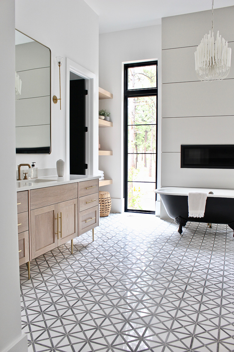 The Forest Modern: Modern Vintage Master Bathroom Reveal! - The ...