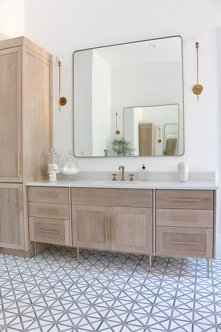 The Forest Modern Modern Vintage Master Bathroom Reveal