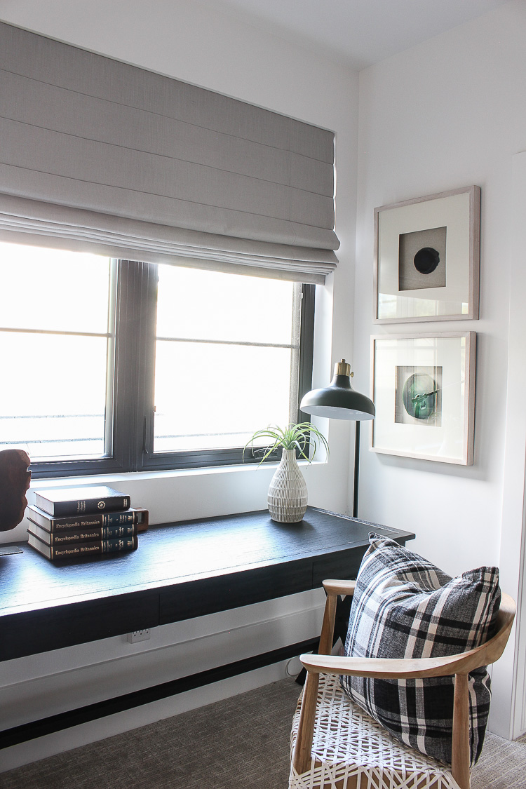 Progress In Our Son\'s Bedroom: New Roman Shades + Our ...