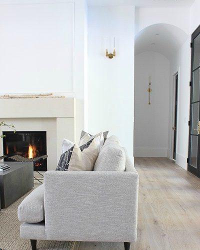 Our Sleek Minimalist Living Room