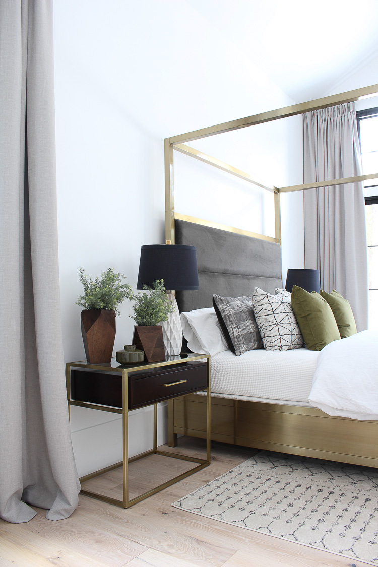 The Forest Modern Master Bedroom Reveal The House Of Silver Lining