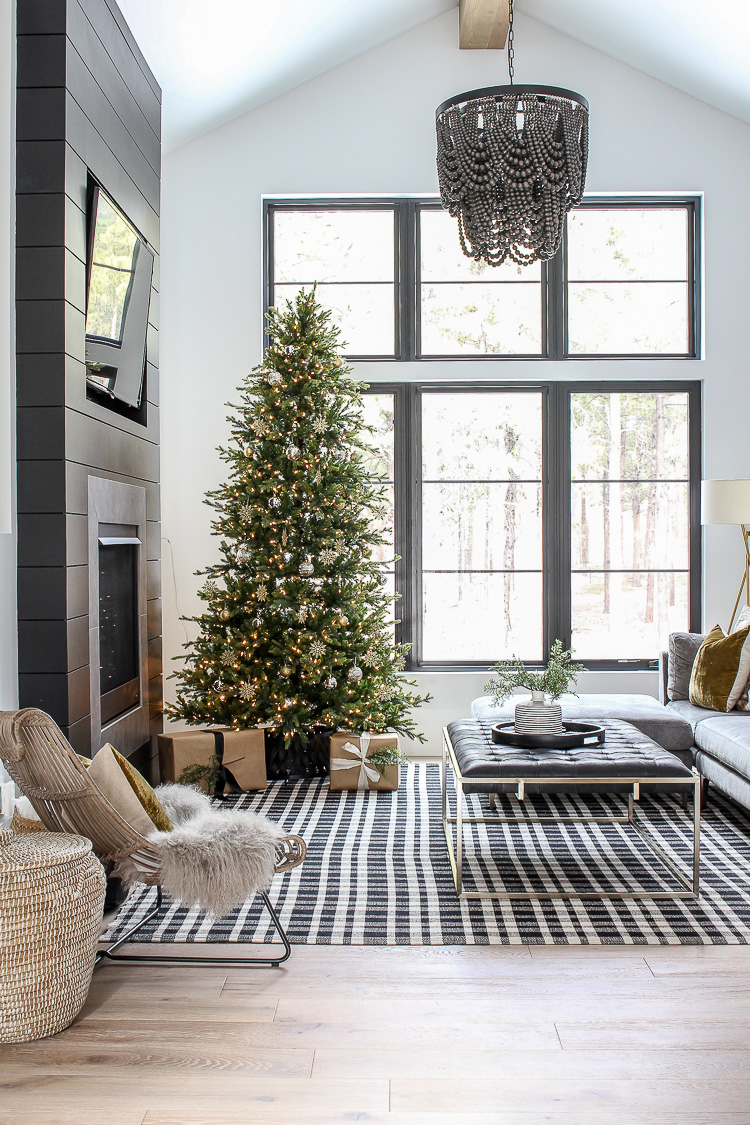 The Forest Modern Grand Finale Christmas Home Tour 2018 The House Of Silver Lining