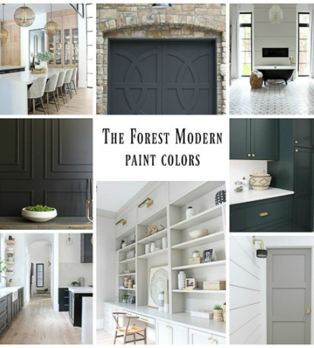 All The Paint Colors In Our Home