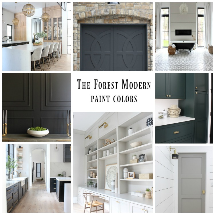 the forest modern paint colors