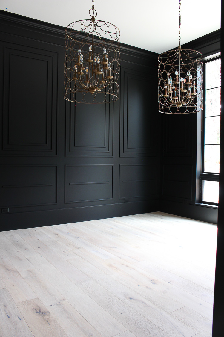 tricorn black dramatic walls