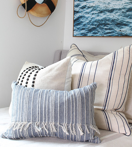 A Coastal Theme Bedroom Makeover at Our Beach Cottage