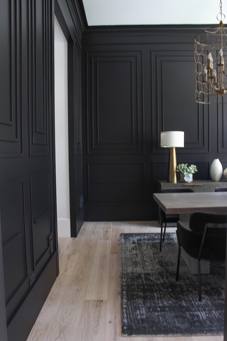 restoration-hardware-inspired-contemporary-black-dining-room