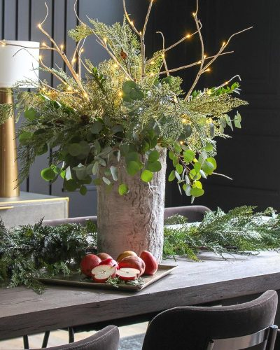 Holiday Style In The Dining Room with Arhaus