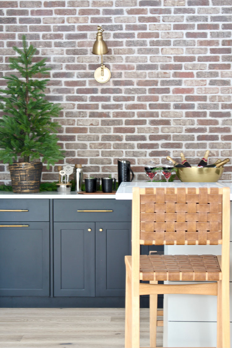 Industrial Modern Bar With Festive Holiday Style - The House ...