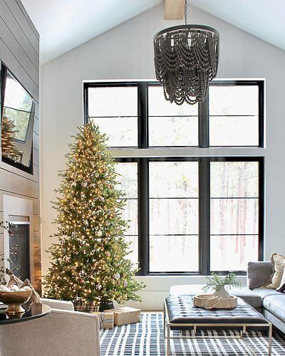 Winter Wonderland Christmas Home Tour: Living Room and Family Room