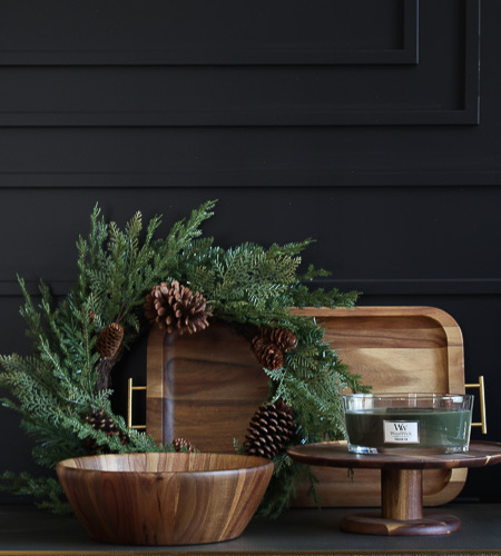 Styling our home and table this holiday with Walmart
