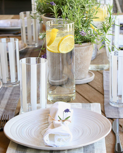 Summer Outdoor Dining Designed like your home